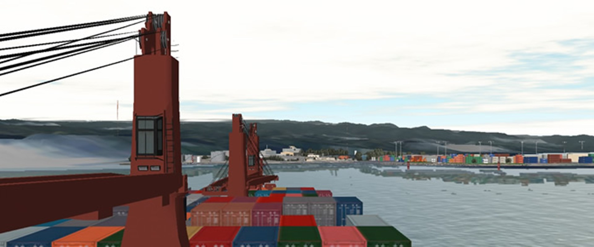 Manoeuvring and Moored Ship Simulations  - banner