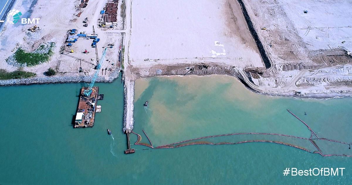 Engineering services for Pengarang Deepwater Terminals