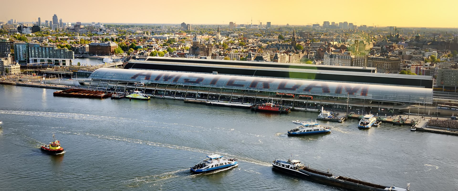 Inland shipping Amsterdam
