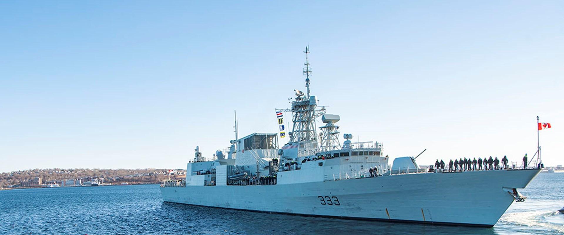 ELMS2 Royal Canadian Navy - banner