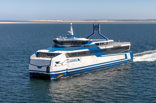 LNG-fuelled ROPAX ferry | Rederij Doeksen and BMT