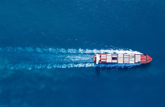 Sea and Container Ship V2
